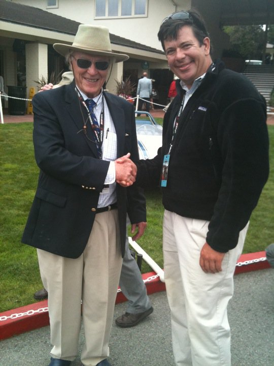 Dan Gurney and Peter Habicht at Pebble Beach