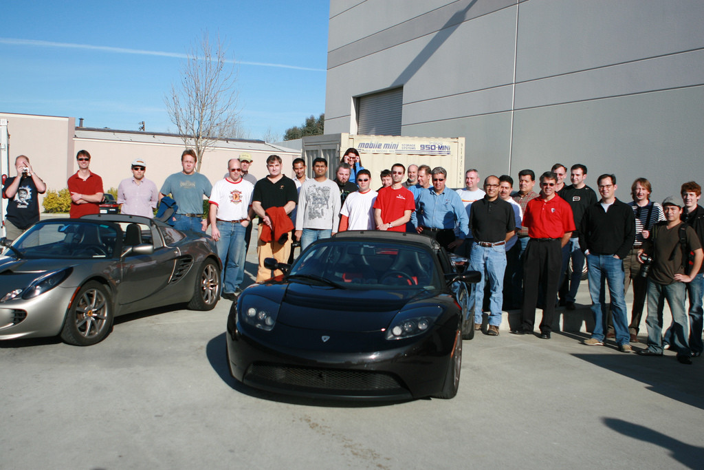 A visit to Tesla Motors, March 17, 2007