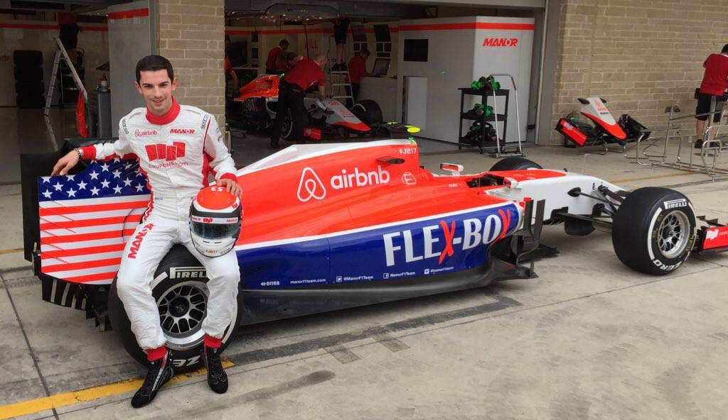 Alexander Rossi, 2015 United States Grand Prix