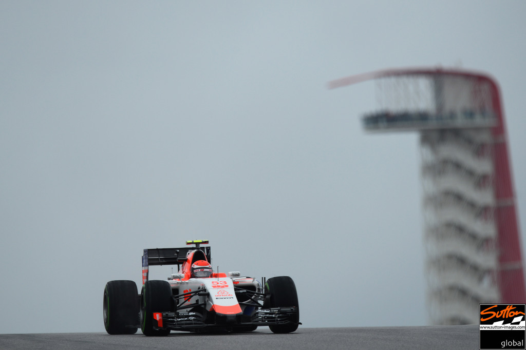Alexander Rossi FP1 at Circuit of The Americas,   Photo: Sutton Images